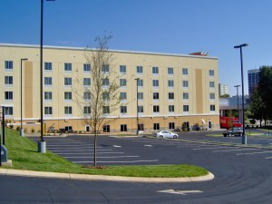 Tennessee Roofing and Construction - Commercial Roofing - Holiday Inn Express MLK, Chattanooga, Tennessee