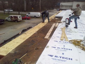 Tennessee Roofing and Construction - Commercial Roofing - Murray Printing, Chattanooga, Tennessee