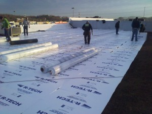 Tennessee Roofing and Construction - Commercial Roofing - Northtowne Square, Hixson, Tennessee