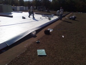Tennessee Roofing and Construction - Commercial Roofing - Planet Fitness, Hixson, Tennessee