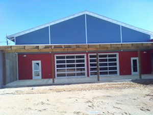 Tennessee Roofing and Construction - Commercial Roofing - Trenton Community Center, Trenton, Georgia