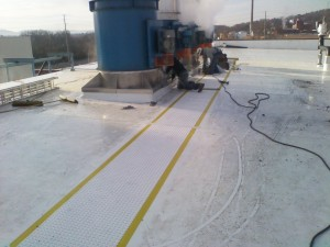 Tennessee Roofing and Construction - Industrial Roofs - ADM Southern Cellulose, Chattanooga, Tennessee