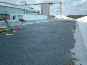 Tennessee Roofing and Construction - Industrial Roofs - Huber Corporation Warehouse 3, Etowah, Tennessee
