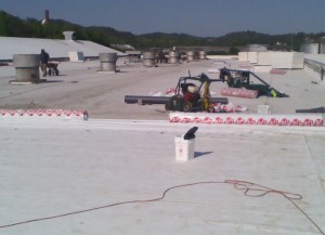 Tennessee Roofing and Construction - Industrial Roofing - Roadtec Manufacturing, Chattanooga, Tennessee