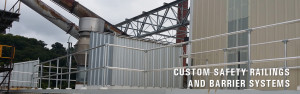 Chattanooga custom safety railing and barrier systems