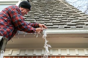 Try these tips from Tennessee Roofing and Construction to avoid roof damage while you hang your holiday light display.