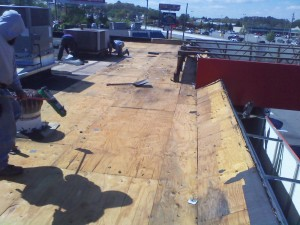 Tennessee Roofing and Construction - Commercial Roofing - Pantry Store, Cartersville, Georgia