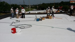 Tennessee Roofing and Construction - Commercial Roofing - Western Sizzlin, Athens, Tennessee