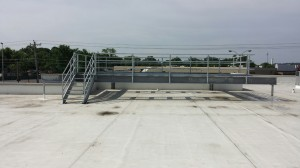 Tennessee Roofing and Construction - Custom Steel Fabrication and Installation - BiLo Store, Ft Oglethorpe, Georgia