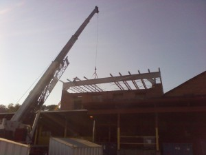 Tennessee Roofing and Construction - General Contracting - Rocktenn, Phase 1, Chattanooga, Tennessee