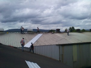 Tennessee Roofing and Construction - Industrial Roofs - Eureka Foundry, Chattanooga, Tennessee