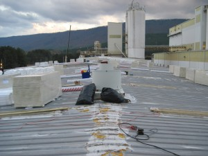 Tennessee Roofing and Construction - Industrial Roofing - Huber Corporation, Etowah, Tennessee