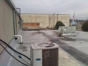 Tennessee Roofing and Construction - Industrial Roofing - Propex Phase 1, Chattanooga, Tennessee
