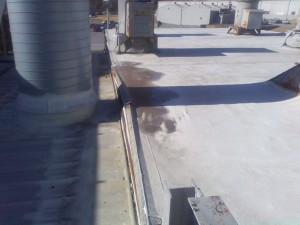 Tennessee Roofing and Construction - Industrial Roofing - Roadtec Manufacturing, Paint Booth, Chattanooga, Tennessee