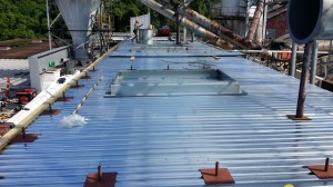 Tennessee Roofing and Construction - Safety Systems - Rocktenn Manufacturing, Chattanooga, Tennesssee